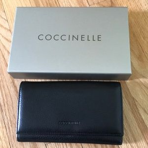 Coccinelle black leather wallet